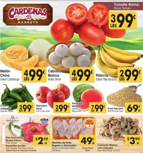 Cardenas Weekly Ad June 26 - July 2, 2019. Roma Tomatoes on Sale!