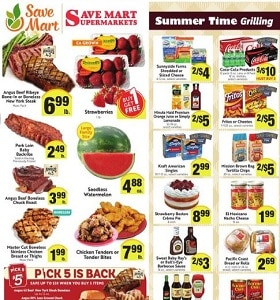 Save Mart Weekly Ad June 12 - June 18, 2019. Summer Time Grilling!
