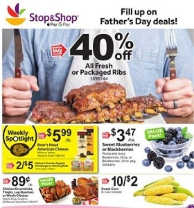 Stop & Shop Weekly Ad June 14 - June 20, 2019. Father's Day Deals!