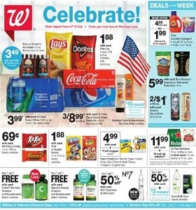 Walgreens Weekly Ad June 30 - July 6, 2019. Celebrate!