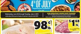 Winn Dixie Weekly Ad June 26 - July 2, 2019. The Ultimate 4th Of July Sale!