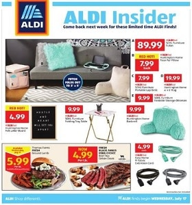 Aldi Weekly Ad July 17 - July 23, 2019  Perfectly Packed Prices!
