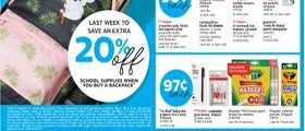 Staples Weekly Ad July 28 - August 3, 2019. School Supplies On Sale!