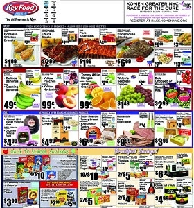 Key Food Weekly Ad August 23 - August 29, 2019. Chuck Steaks