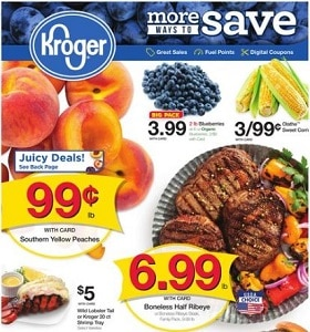 Kroger Weekly Flyer August 14 - August 20, 2019. More Ways To Save!