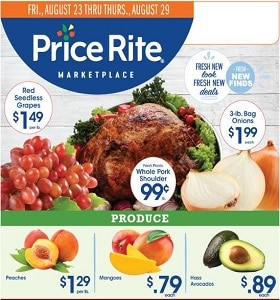 Price Rite Weekly Ad August 23 - August 29, 2019. Amazing Savings!