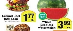 Save Mart Weekly Ad August 7 - August 13, 2019. Whole Seedless Watermelon