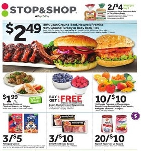 Stop & Shop Weekly Ad August 23 - August 29, 2019. Back to School Savings!