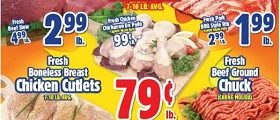 Western Beef Weekly Ad August 22 - August 28, 2019. Fresh Chicken Drumsticks