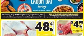 Winn Dixie Weekly Ad August 28 - September 3, 2019. Labor Day Savings!