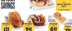 Food Lion Weekly Flyer September 25 - October 1, 2019. Hearty Autumn Savings!