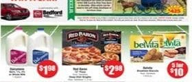 """Marc's Weekly Circular September 4 - September 10, 2019. Red Baron 12"""" Pizza"""