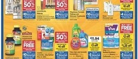 Rite Aid Weekly Ad September 22 - September 28, 2019. Save Up With Bonus Cash!