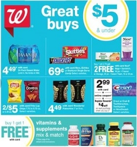 Walgreens Weekly Ad September 22 - September 28, 2019. Great Buys!