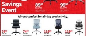 Staples Weekly Flyer October 20 - October 26, 2019. Chair Savings Event!