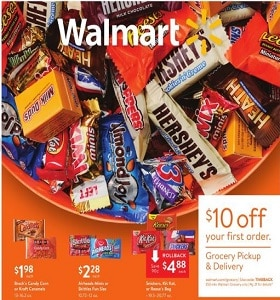 Walmart Weekly Ad October 13 - October 31, 2019. Scary-Good Prices!