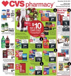 CVS Weekly Ad November 24 - November 30, 2019. Red Hot Deals!