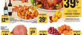 Food Lion Weekly Ad November 20 - November 28, 2019. Happy Thanksgiving!