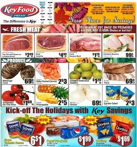 Key Food Weekly Ad November 8 - November 14, 2019. Your Place For Savings!