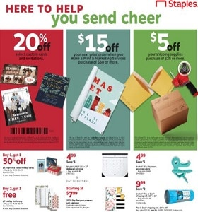 Staples Weekly Ad November 24 - November 30, 2019. Gifts With Game!