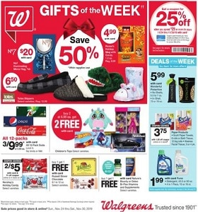 Walgreens Weekly Ad November 24 - November 30, 2019. Gifts Of The Week!