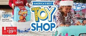 Walmart Toy Circular November 1 - December 24, 2019. America's Best Toy Shop