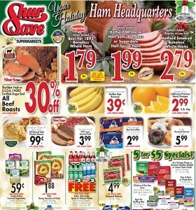 Gerrity's Weekly Flyer December 8 - December 14, 2019. Your Holiday Ham Headquarters!