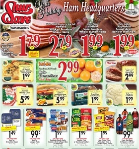 Gerrity's Weekly Ad December 15 - December 21, 2019. Your Holiday Ham Headquarters!