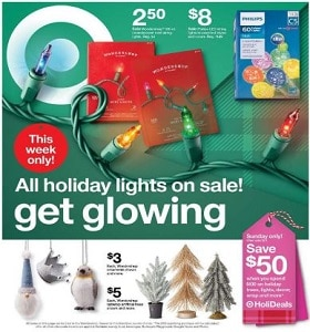 Target Weekly Ad December 1 - December 7, 2019. Cyber Week!