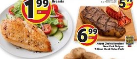 BI-LO Weekly Ad January 22 - January 28, 2020. 100% All Natural Fresh Boneless Skinless Chicken Breasts