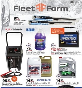 Fleet Farm Weekly Ad January 17 - January 25, 2020. Trico Ice Winter Wiper Blade