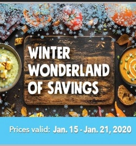 Marc's Weekly Circular January 15 - January 21, 2020. Winter Wonderland of Savings!
