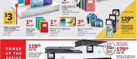 Staples Weekly Ad January 12 - January 18, 2020. Stock Up For School!