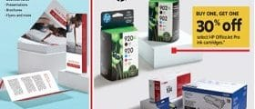 Staples Weekly Ad January 19 - January 25, 2020. HP OfficeJet Pro ink cartridges