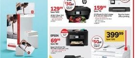 Staples Weekly Flyer January 26 - February 1, 2020. Power Through Projects