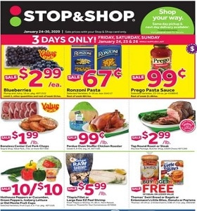 Stop & Shop Weekly Ad January 24 - January 30, 2020. Gameday Savings!