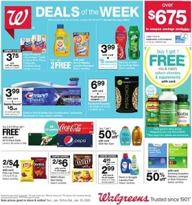 Walgreens Weekly Ad January 18 - January 25, 2020. Arm & Hammer Laundry Detergent