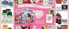 CVS Weekly Circular February 9 - February 15, 2020. Little Thing From The Heart!
