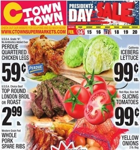 Ctown Weekly Ad February 14 - February 20, 2020. Presidents Day Sale!