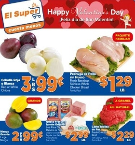 El Super Weekly Circular February 5 - February 11, 2020. Happy Valentine's Day!