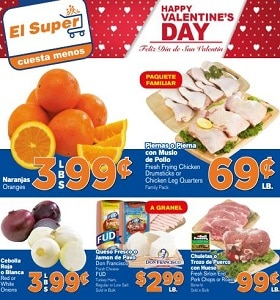 El Super Weekly Flyer February 12 - February 18, 2020. Happy Valentine's Day!