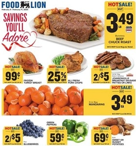 Food Lion Weekly Circular February 5 - February 11, 2020. Savings You'll Adore!