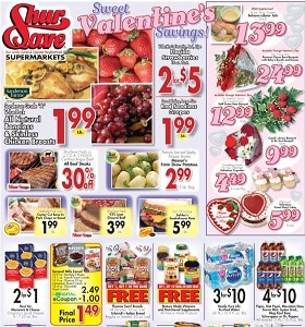 Gerrity's Weekly Circular February 9 - February 15, 2020. Sweet Valentine's Savings!
