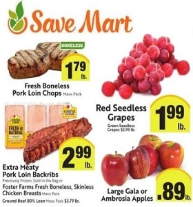 Save Mart Weekly Ad February 5 - February 11, 2020. Surf & Turf!