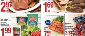 Shaw's Weekly Flyer February 21 - February 27, 2020. Salmon Fillet