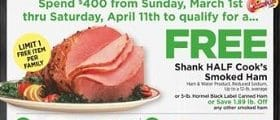 ShopRite Weekly Circular March 1 - March 7, 2020. Holiday Dinner Favorites