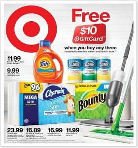 Target Weekly Circular February 16 - February 22, 2020. $10 Gift Cards!