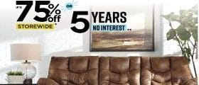 Ashley Furniture Weekly Flyer March 5 - April 9, 2020. Warehouse Blowout Sale!