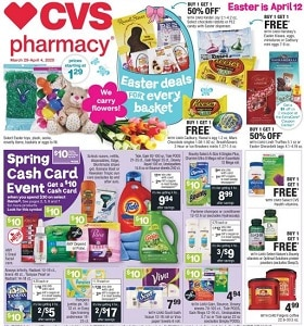 CVS Weekly Ad March 29 - April 4, 2020. Easter Deals For Every Basket!