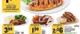 Food Lion Weekly Ad March 11 - March 17, 2020. Fresh Savings